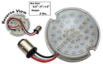 Picture of PARK LED LAMP 51-53 AMBER  GMC : CPL5153C CHEVY PICKUP 51-53