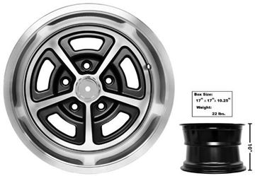 Picture of MAGNUM ALLOY WHEEL 15x10 W/CAP : GW150 CHEVY PICKUP 60-72