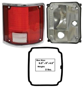 Picture of TAIL LAMP ASSY RH 73-87  W/TRIM : LP80 CHEVY PICKUP 73-87