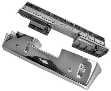 Picture of ARM REST BASE CHROME 1965-67 PAIR : M1715 CUTLASS 65-67