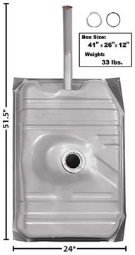Picture of GAS TANK 78-87 17 GAL. : T35D EL CAMINO 78-87