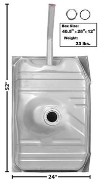Picture of GAS TANK 78-87 22 GAL. : T35C EL CAMINO 78-87