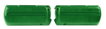 Picture of ARM REST BASE DARK GREEN PAIR 68-69 : M1040G FIREBIRD 68-69