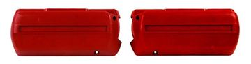 Picture of ARM REST BASE RED PAIR 68-69 : M1040B FIREBIRD 68-69