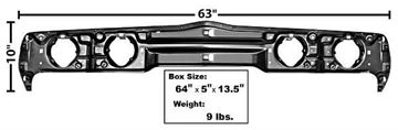 Picture of HEADLAMP BACKING SUPPORT PANEL : 1020 FIREBIRD 79-81