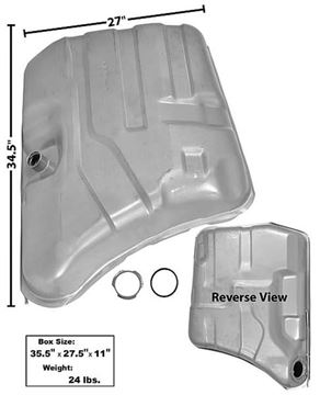 Picture of GAS TANK 75-76 22 GAL. : T29G IMPALA 75-76