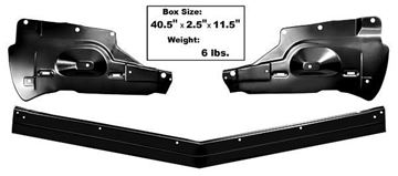 Picture of GRILLE SUPPORT/BUMPER FILLER  1966 : M1719P IMPALA 66-66