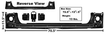 Picture of REAR BODY PANEL SET 1965 : 1769F IMPALA 65-65