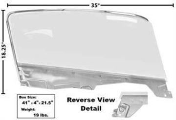 Picture of DOOR GLASS KIT LH 65-66 FB : 3614M MUSTANG 65-66