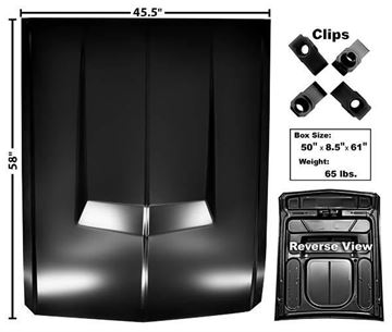 Picture of HOOD 67-68 ELEANOR STYLE : 3641UA MUSTANG 67-68