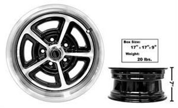 Picture of MAGNUM ALLOY WHEEL 15X7 NEW DESIGN : FW157P MUSTANG 64-72