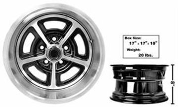 Picture of MAGNUM ALLOY WHEEL 15X8 NEW DESIGN : FW158P MUSTANG 65-73
