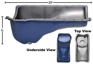 Picture of OIL PAN 70-73 : M3587A MUSTANG 70-73