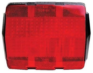 Picture of TAIL LAMP LENS 1965-66 : L3615A MUSTANG 65-66