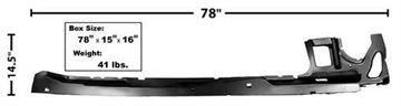 Picture of ROCKER PANEL INNER LH 68-79 : 1665 NOVA 68-79