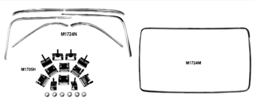Picture for category Window Molding : Impala
