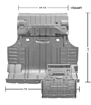 Picture for category Trunk Floor Pans : Impala