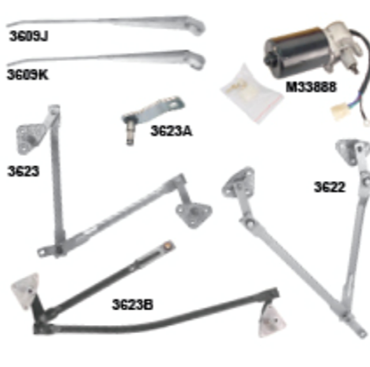 Picture for category Wiper Arms : Mustang
