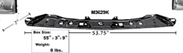 Picture for category Support & Reinforcement Bars : Mustang