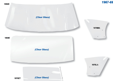 Picture for category Glass, Weatherstrip & Seals : Firebird