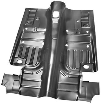 Picture of FLOOR PAN COMPLETE 1969-70 : 3648D COUGAR 69-70