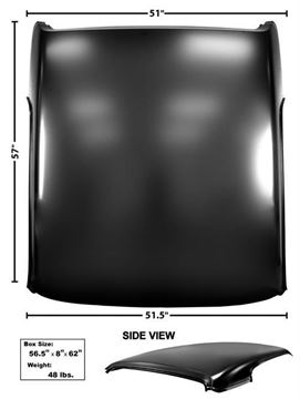 Picture of ROOF PANEL 1967-68 COUGAR : 3843A COUGAR 67-68