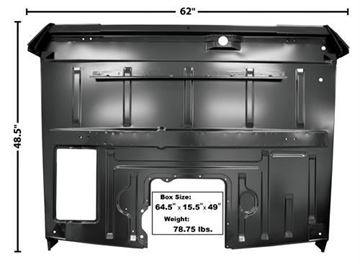 Picture of FLOOR PANEL COMPLETE ASSY 1956 : FORD PICKUP  3151