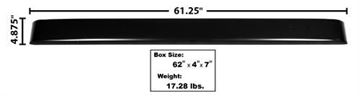 Picture of BUMPER REAR STEPSIDE PAINTED 48-72 : 3000 FORD PICKUP 48-72