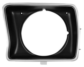 Picture of HEADLAMP DOOR 78-79 LH ROUND : 3034B FORD PICKUP 78-79