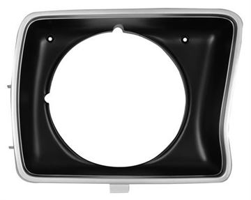 Picture of HEADLAMP DOOR 78-79 RH ROUND : 3034A FORD PICKUP 78-79