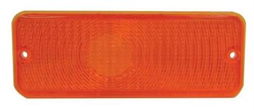 Picture of PARK LIGHT ASSY 75-77 AMBER LENS : L3031 FORD PICKUP 75-77