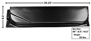 Picture of DOOR BOTTOM INNER 67-72 LH 8-1/2H : 3108B FORD PICKUP 67-72