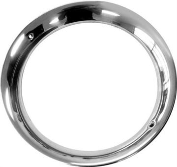 Picture of HEADLIGHT BEZEL 56 STAINLESS RH=LH : L3001 FORD PICKUP 56-56