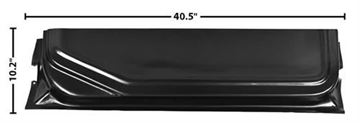 Picture of DOOR BOTTOM INNER LOWER 73-79 LH : 3109D FORD PICKUP 73-79