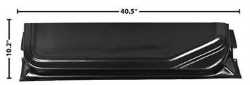 Picture of DOOR BOTTOM INNER LOWER 73-79 RH : 3109C FORD PICKUP 73-79