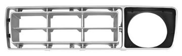 Picture of GRILLE INSERT LH 76-77 SILVER/BLACK : 3033B FORD PICKUP 76-77