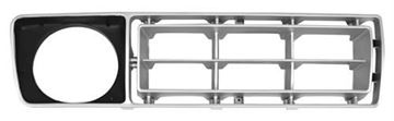Picture of GRILLE INSERT RH 76-77 SILVER/BLACK : 3033A FORD PICKUP 76-77
