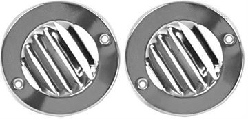 Picture of DEFROST ROUND LOUVER VENT SET 61-66 : 3215 FORD PICKUP 61-66