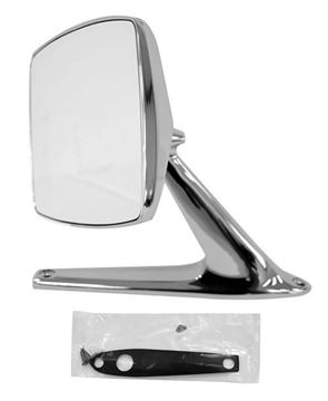Picture of MIRROR EXTERIOR 67-79 CHROME RH=LH : 3117A FORD PICKUP 67-79