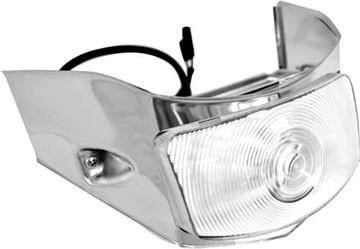 Picture of PARK LIGHT ASSY 55 CLEAR LENS : L3020 FORD PICKUP 55-55