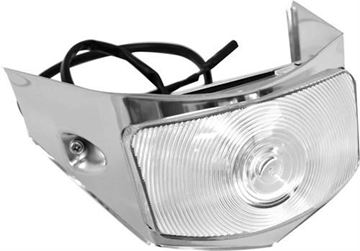Picture of PARK LIGHT ASSY 56 CLEAR LENS : L3022 FORD PICKUP 56-56