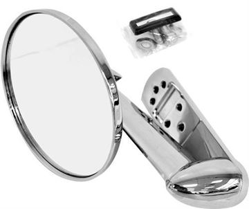 Picture of MIRROR EXTERIOR 53-56 CHROME RH=LH : 3117 FORD PICKUP 53-56
