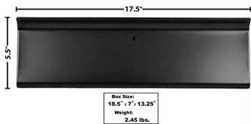 Picture of GLOVE BOX DOOR 1956 PTD BLACK : 3213 FORD PICKUP 56-56