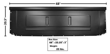 Picture of BED FRONT PANEL 73-86 : 3254 FORD PICKUP 73-86