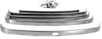 Picture of GRILLE BAR 48-50 STAINLESS 5PCS : 3031A FORD PICKUP 48-50