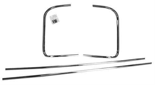 molding window back set 4 pcs 1956   m3101 ford pickup 56