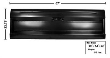 Picture of TAIL GATE 64-72 STYLESIDE W/O FORD : 3300 FORD PICKUP 64-72