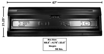 Picture of TAIL GATE 64-72 STYLESIDE W/FORD : 3301 FORD PICKUP 64-72
