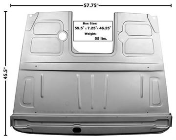 Picture of FLOOR PANEL ASSY FRONT 48-52 : 3152 FORD PICKUP 48-52