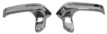 Picture of VENT WINDOW HANDLE 65-66 PAIR : 3641G FALCON 64-65